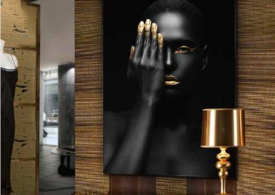 Quadro Oro negro