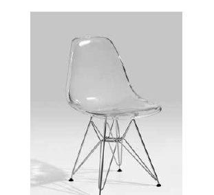 Cadeira acrilico