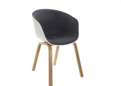 Cadeira PP madeira