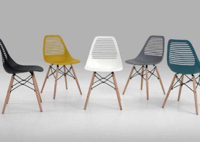 Cadeira PVC 7039A