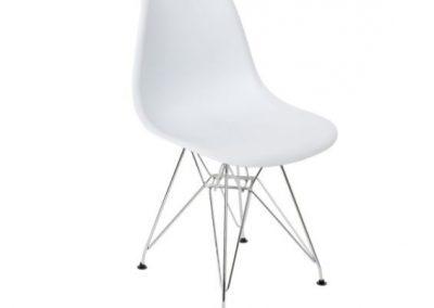 Cadeira PP cromado
